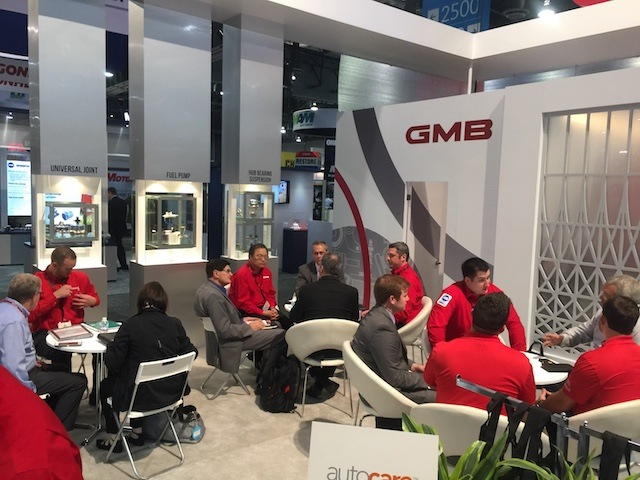 GMB AAPEX booth